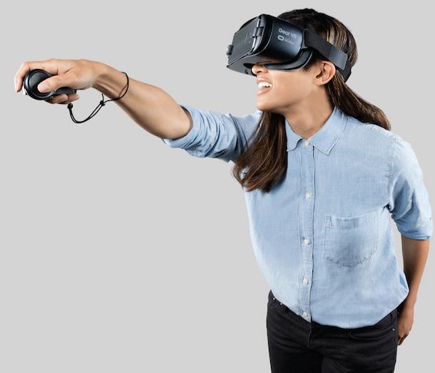 Использование Очков VR от Samsung