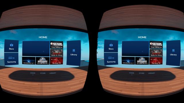 Использование VR от Samsung