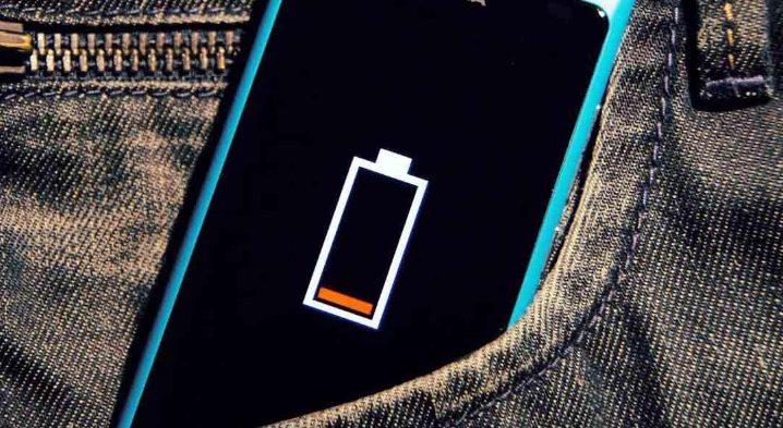 Мало заряда на телефоне