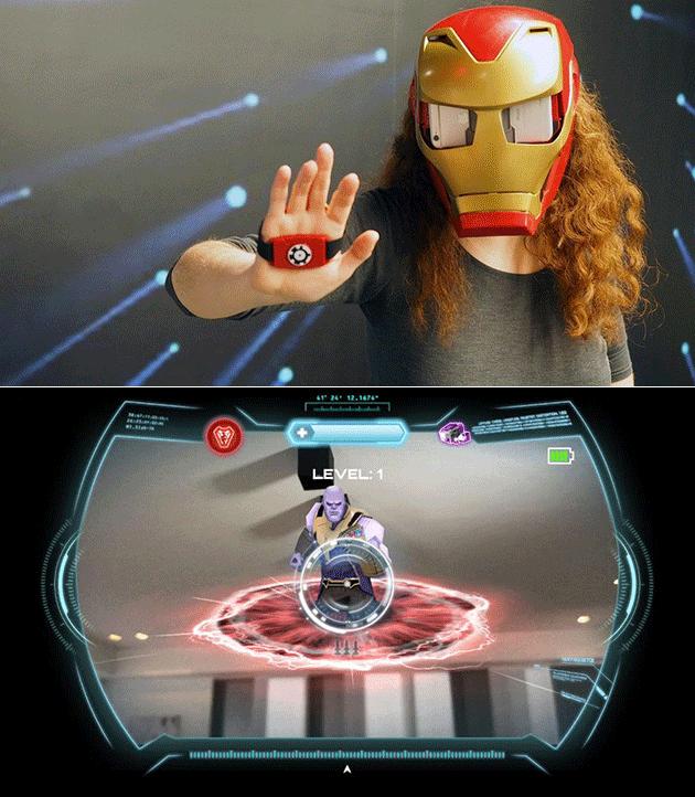 Маска железного человека - VR