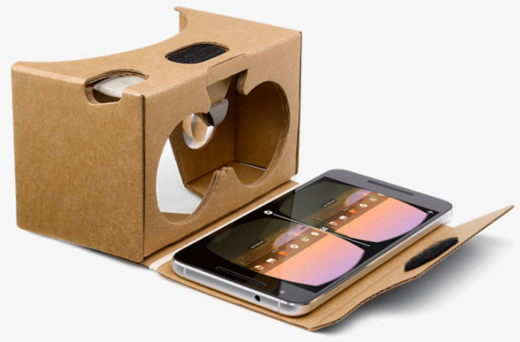 Очки VR Google Cardboard