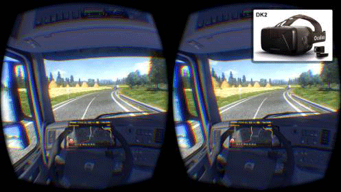 Подключение устройства Oculus Rift DK2