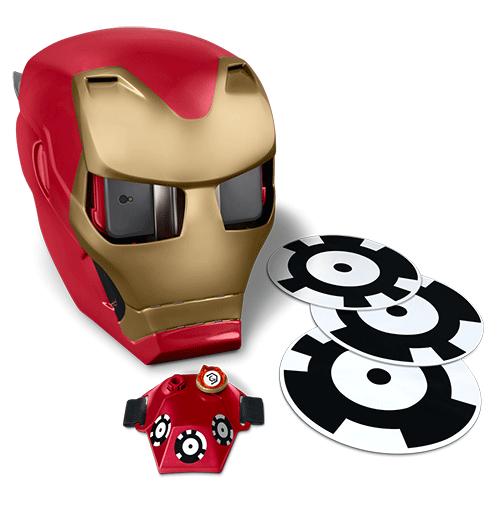Шлем VR в виде маски железного человека