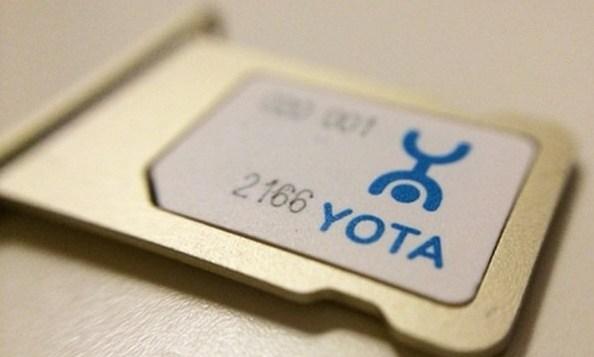 СИМ карта от Yota