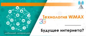 Технология WiMAX будущее интернета
