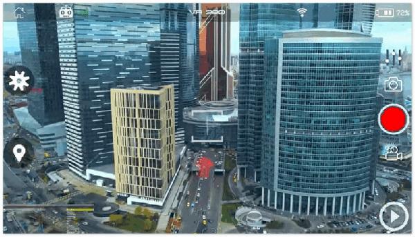 Видео с летательного аппарата FLYBi