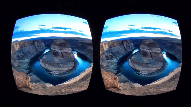 VR фильмы в очках виртуальной реальности
